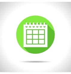 Calendar icon epsflat0 vector