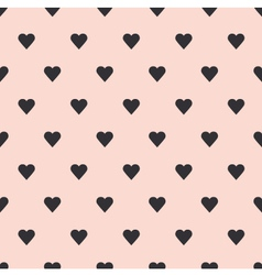Hearts seamless pattern background vector