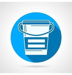 Meal replacement flat icon vector