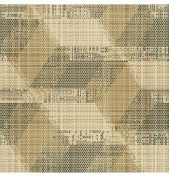 vintage print vector image
