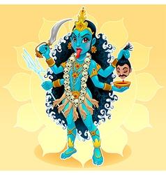Kali vector image