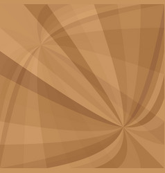brown abstract curved ray burst background - from vector image vector image