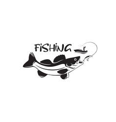 Predatory fish vector