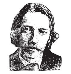 Robert stevenson vintage vector