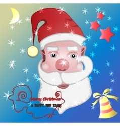 Santa 2 vector image