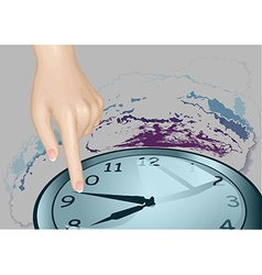 Stopped time vector