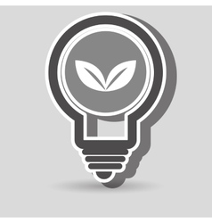 tree and environment isolated icon design vector image