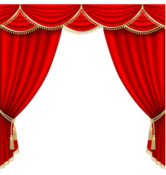 Theater stage mesh vector