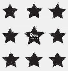 Grunge stars vector image