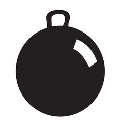 Isolated ball toy vector