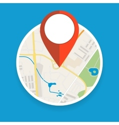 Navigation geolocation icon vector image