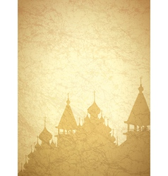 Vintage religion background vector