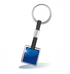 key chain vector image