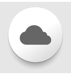Cloud icon eps10 easy to edit vector