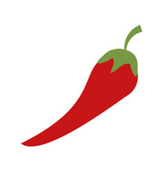 chili food flat vector image vector image