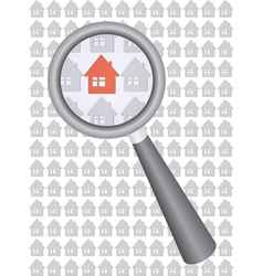 find house vector image vector image