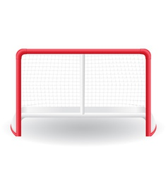gates goalie for the game of hockey vector image vector image