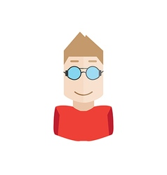 object hipster avatar vector image vector image