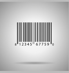 Barcode bar code vector