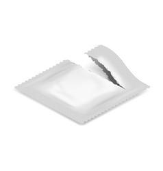 Isometric torn realistic condom food medicine flow vector