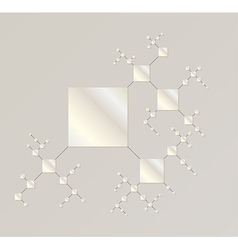 Map of the silver squares vector