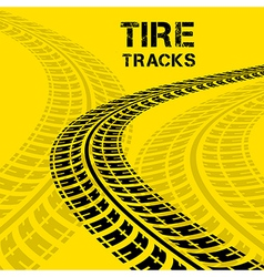 Tire track 02 vector