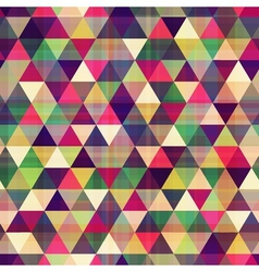 Seamless triangle background texture vector