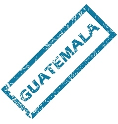 Guatemala rubber stamp vector