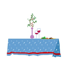 A table vector image vector image