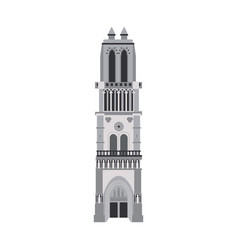 church building icon image vector image