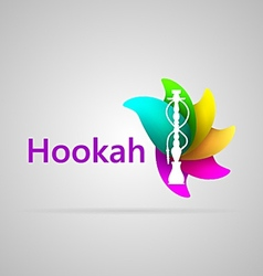 Colorful for hookah vector