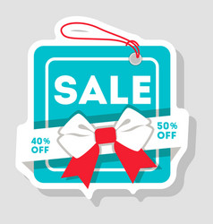 discount sale isolated retail label vector image