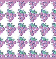 Grape cluster background icon image vector