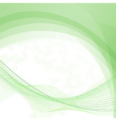 Green swoosh lines folder abstraction template vector