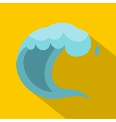 Wave icon cartoon style vector image vector image