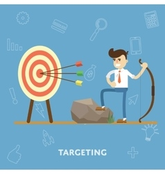 Concept of goal setting and proper targeting vector