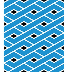 Modern zigzag bright geometric seamless pattern vector image vector image