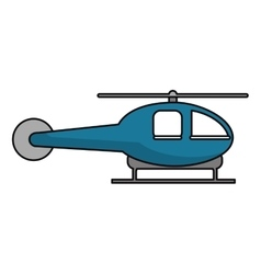 Isolated helicopter vehicle design vector