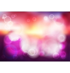 Bokeh blur romantic purple backdrop vector