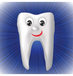 Cheerful tooth vector
