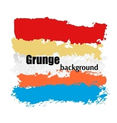 Grunge banner splach abstract background vector