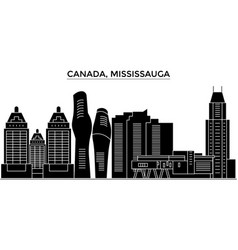 canada mississauga architecture city vector image