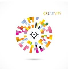 Creative icon logo circle icon logo abstract icon vector