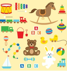 toys clipart vector image