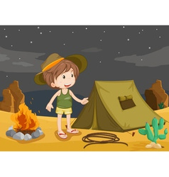 camper vector image