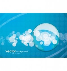 Aqua elements background vector