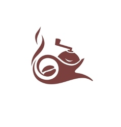 Coffee maker sign vector