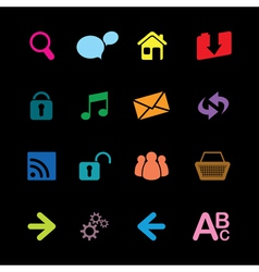 web icons3 vector image vector image