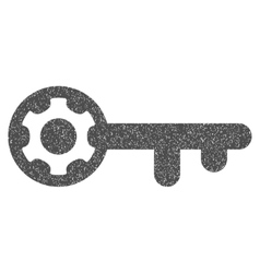 Key options grainy texture icon vector