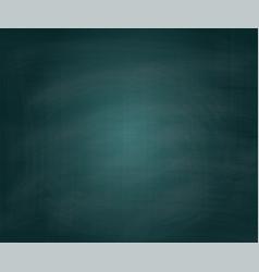 school green chalkboard background vector image